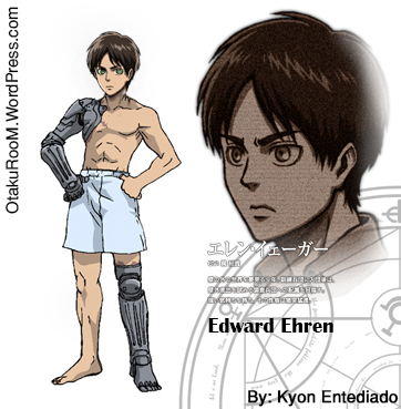 Shingeki no Kyojin - Edward Ehren